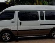 รถตู้ให้เช่าพร้อมคนขับ  1500 บาท   วัน