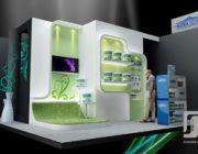 Ndozen co.ltd.รับงานออกแบบ-ตกแต่ง ติดตั้ง บูธ แสดงสินค้า Exhibition Booth Kio