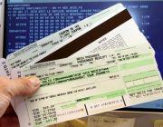 ตั๋วเครื่องบินมาตรฐาน