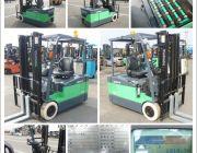 ขายรถโฟล์คลิฟท์ Forklift รถยกไฟฟ้า มือสอง Toyota 2 ตัน 7FBE20 นำเข้าจากญี่ปุ่น