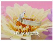 จำหน่าย แหวนเพชรคู่ สำหรับงานแต่งงาน ราคาย่อมเยาว์