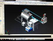 รับเขียนแบบ AutoCAD2D 3D เครื่องจักรกลโปรเจ็คนักศึกษารับเขียนแบบตาม Drawingที่กำหนด