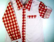เสื้อเชิ้ตเด็กเสื้อผ้าเด็กแขนยาวสีชมพู by prokidsthai