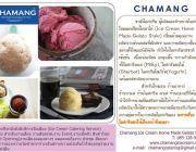Chamang ชามัง ไอศกรีมโฮมเมดสไตล์เจลาโต้ Ice cream home made gelato style