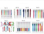 ปากกาพลาสติกไม่เกิน 10 บาท ปากกาสกรีนโลโก้ฟรี ปากกาโลหะ ปากกาคล้องคอ