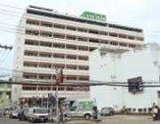 อุบล โฮเต็ล 9 ชั้น โรงแรมใจกลางเมือง มีห้องพักแบบรายเดือน