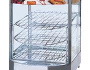 ตู้อุ่นอาหาร Hot Display Showcase ใช้ไฟฟ้า แบบ 3 ชั้น ยี่ห้อนาโนเทค รุ่น DH-1P
