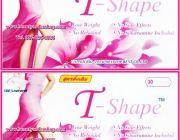 ทีเชฟ อาหารเสริมทีเชฟ T-Shape ที-เชฟ ทีเชฟ-ลดน้ำหนัก ทีเชฟ-ลดความอ้วน
