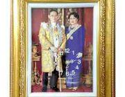 กรอบรูปกรอบรูปหลุยส์กรอบรูปลายไทยกรอบรูปผ้าไหมลายไทยพระของตกแต่งบ้านของฝา