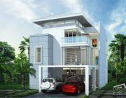 Tropical Style แบบบ้านสามชั้น 5 ห้องนอน 6 ห้องน้ำ พร้อมบริการรับเหมาก่อสร้าง ขนา
