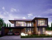 แบบบ้าน Modern Style แบบบ้านสองชั้น พื้นที่ 330 ตรม 4 ห้องนอน 4 ห้องน้ำ