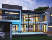 แบบบ้าน Modern Style แบบบ้านสองชั้น พื้นที่ 450 ตรม 4 ห้องนอน 4 ห้องน้ำ