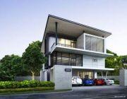 BB-H3-40001.06 แบบบ้าน Modern Style แบบบ้านสามชั้น พื้นที่ 400 ตรม 4 ห้องนอน 4 ห