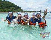 ดำน้ำเกาะทะลุ เที่ยวเกาะทะลุ ดำน้ำดูปะการังและปลาสวยงามประจวบ