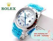 นาฬิกา Rolex DAY-DATE II Oyster 41mm. Platinum งานสแตนเลสแท้ งานสวยค่ะ