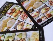 รับพิมพ์แผ่นรองจานอาหาร ทั้งแบบกระดาษและเนื้อพลาสติ๊ก