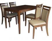 ชุดโต๊ะทานข้าวไม้ยางพารา DS-DN-49