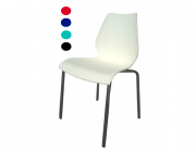 เก้าอี้พลาสติก ขาชุบเงา CD-184