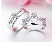 รับสั่งทำแหวนคู่รัก แหวนหมั้น แหวนแต่งงาน เครื่องประดับทองคำแท้  By SKT Jewelry