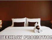 Weekday Promotion ส่วนลดถึง 55% เมื่อจองผ่าน hotelmchiangmai