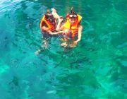 ทัวร์ภูเก็ต เที่ยวเกาะพีพี อ่าวมาหยา เกาะไม้ไผ่ by comfortable boat
