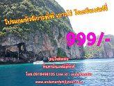 โปรแกรมท่องเที่ยวเกาะพีพี เกาะไข่ ราคาถูก