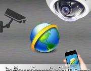 EZ-ADMIN Service ให้บริการติดตั้งระบบกล้องวงจรปิดด้วย IP Cameraระบบบ้านอัตโนมัต