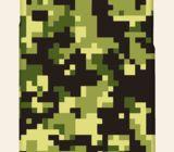 Casetitude เคสมือถือ เคสiPhone Samsung ลายพรางดิจิตอลทหาร สีเขียว