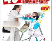 Mybabybean เก้าอี้ทานข้าวเด็กทารก สินค้าคุณภาพดี ลดพิเศษ 40%