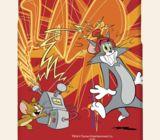 Casetitude เคสมือถือ เคสiPhone Samsung ลายทอม แอนด์ เจอร์รี่ Tom and Jerry สีแ