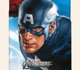 Casetitude เคสมือถือ เคสiPhone Samsung ลายกัปตันอเมริกา Captain America สีฟ้า