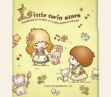 Casetitude เคสมือถือ เคสiPhone Samsung ลาย LITTLE TWIN STARS สีเหลือง
