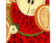 Casetitude เคสมือถือ เคส iPhone Samsung ลาย ผลไม้รวม Fruit in Paint