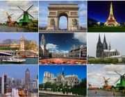 ฝรั่งเศส - เบลเยี่ยม - ลักเซมเบิร์ก เยอรมนี - เนเธอร์แลนด์ 8 วัน 5 คืน