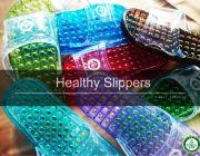 รองเท้าเพื่อสุขภาพ ตราเนเชอรัลส พลัส ช่วยนวดกดจุดฝ่าเท้า บำบัดสุขภาพร่างกาย ช่วย