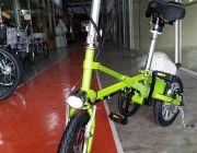 """- จักรยานไฟฟ้า-พับได้ รุ่น One Second 14"""""""