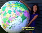ลูกโลกจัมโบ้ ขนาด 27 นิ้ว เสริมสร้างแนวคิดภูมิศาสตร์ . กับลูกโลกจัมโบ้ที่ช่