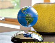 ลูกโลกลอยได้ ขนาด 4 นิ้ว ลูกโลกต้านแรงโน้มถ่วง Levitron Anti Gravity Globe -- เ