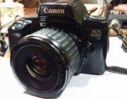ขายกล้องฟิลม์ CANON EOS 1000 F พร้อมเลนส์ CANON 75-300 mm
