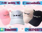 หมวกแฟชั่น หมวกผูกโบว์ หมวกhiphop หมวกตาข่าย หมวกสกรีน หมวกเปล่า หมวกเกาหลี หมวก