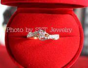 รับออกแบบ สั่งทำ แหวนทองคำแท้ประดับเพชรดีไซน์หลากหลาย ราคากันเอง