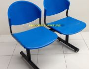 เก้าอีแถวโพลีโพพีรีนเกรดA ชนิด 2ที่นั่ง 3 ที่นั่ง และ 4ที่นั่ง