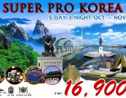 SUPER PRO KOREA 5 DAYS 3 NIGHTS