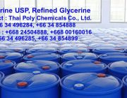 กลีเซอรอล Glycerol รีไฟน์กลีเซอรอล Refined Glycerol กลีเซอรีนเหลว กลีเซอรีน