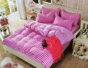 ชดผ้าปูที่นอน+ผ้านวม คุณภาพดี ราคาถูก 6ฟุตเพียง690