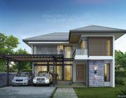 แบบบ้านสองชั้น Resort 4 ห้องนอน 3 ห้องน้ำ 200 ตร.ม. รับสร้างบ้าน