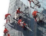 รับงานโรยตัวยิงซิลิโคนกระจกซ่อมแซมรอยแตกร้าวกันซึม062-156-2391