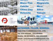 Filler Extender Mineral ฟิลเลอร์ เอกเทนเดอร์ แร่อุตสาหกรรม มิเนอรัล สารเต