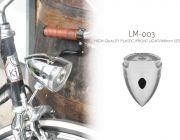 Kiley ไฟหน้ารถจักรยาน LM-003 สำหรับ จักรยานแนววินเทจ คลาสสิก ซิตี้ทัวร์