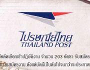 บริษัท ไปรษณีย์ไทยดิสทริบิวชั่น จำกัด เปิดรับสมัครเพื่อคัดเลือกเข้าปฏิบัติงาน